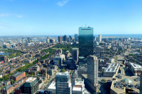 Ausblick Prudential Tower
