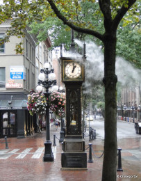 Steam Clock at Gastown