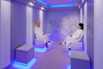 Ice room at the spa area