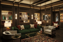 The Connoisseur Club cigar lounge